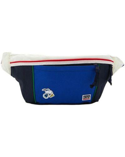 Niebieska torba sportowa Levi's