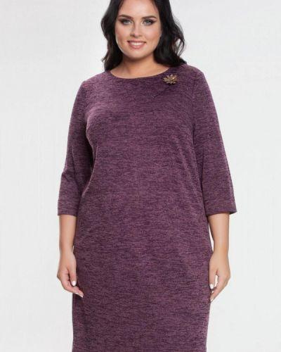 Фиолетовое повседневное платье Prima Linea