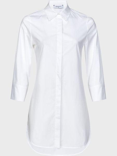 Хлопковая белая рубашка с поясом Beatrice.b