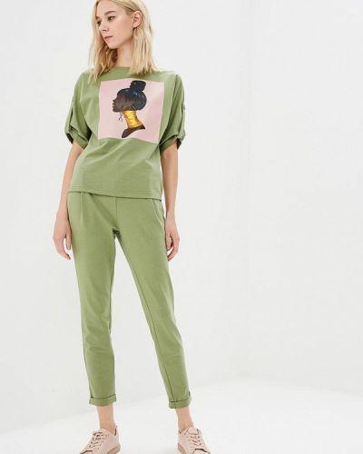 Зеленый брючный костюм Fashion.love.story
