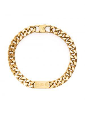 Złota bransoletka łańcuch Tateossian