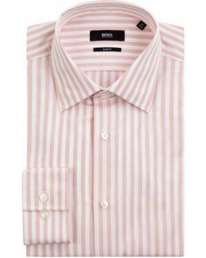 Koszula z długim rękawem w paski z paskami Boss