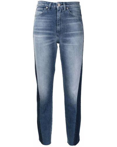 Синие джинсы с завышенной талией 3x1