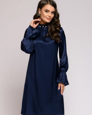 Коктейльное платье на пуговицах платье-сарафан 1001 Dress