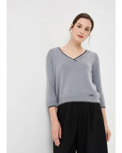 Серый пуловер Gaudi