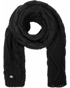 Вязаный акриловый черный классический шарф вязаный Canadiens