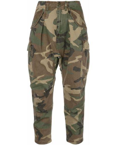 Укороченные брюки брюки-хулиганы с карманами R13