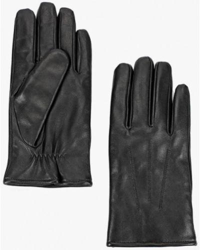 Кожаные перчатки черные Marks & Spencer