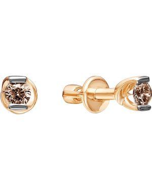 Серьги из золота золотой Vesna Jewelry
