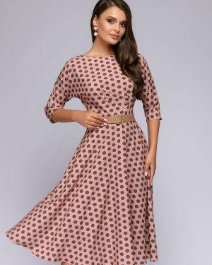 Повседневное платье платье-сарафан из вискозы 1001 Dress