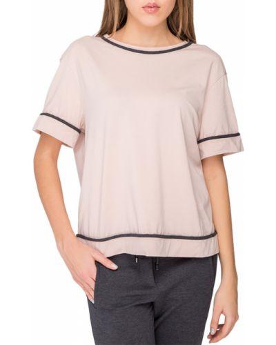 Розовая футбольная футболка Brunello Cucinelli