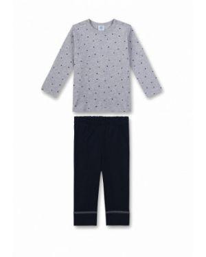 Пижама серая черный Sanetta
