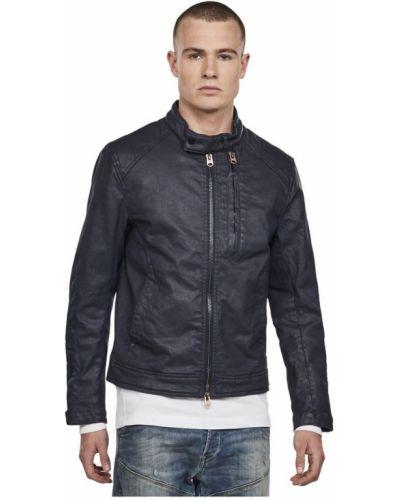 Niebieski kurtka jeansowa rowerzysta G-star