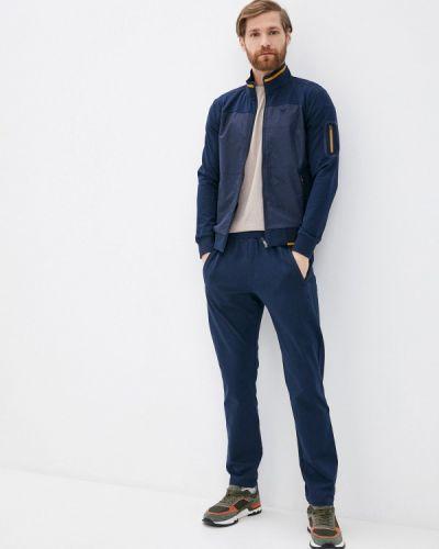 Костюмный синий спортивный костюм Bilcee