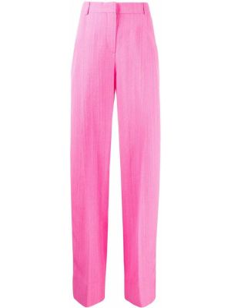 Szerokie spodnie z wysokim stanem z kieszeniami Jacquemus
