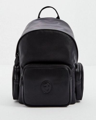 Черный зимний рюкзак Trussardi