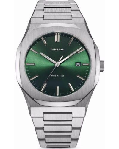 Пуховые часы - зеленый D1 Milano