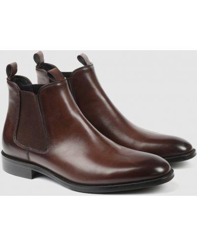 Кожаные ботинки челси канцлер