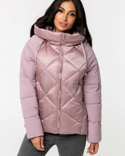 Теплая розовая зимняя куртка Whitefox
