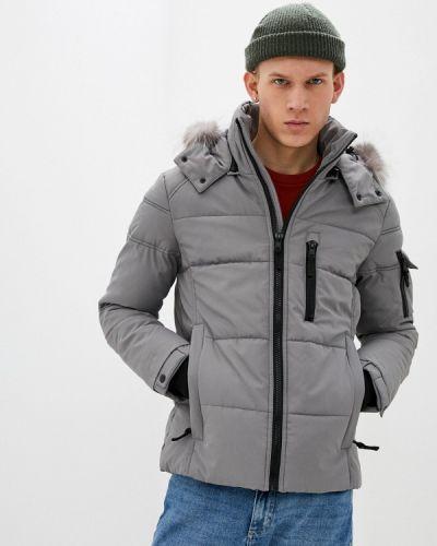 Утепленная серая куртка Colin's