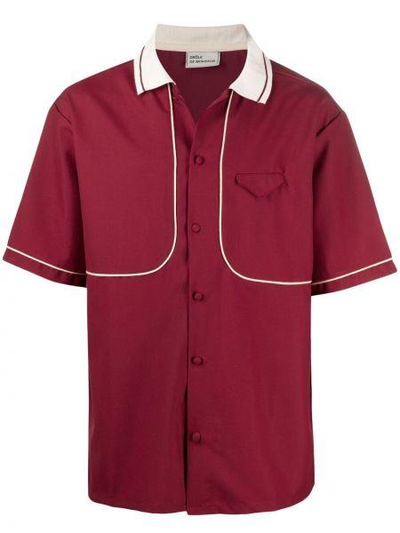 Koszula krótki rękaw wełniana Drole De Monsieur