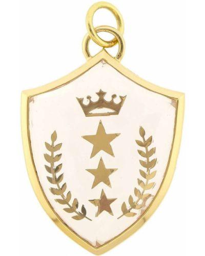 Z gwiazdami żółty wisiorka ze złota Foundrae
