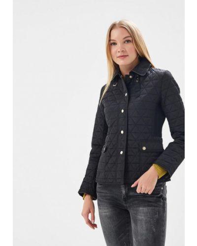 Утепленная куртка весенняя черная So Sweet