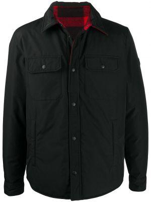 Шерстяное пальто - черное Woolrich