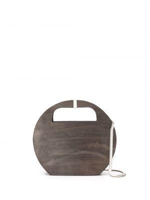 Черная сумка на цепочке Cecchi De Rossi