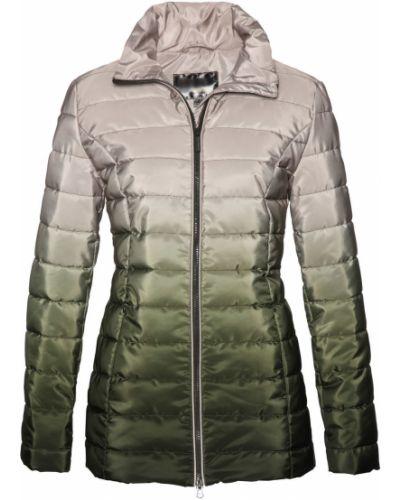 Стеганая куртка с камнями облегченная Bonprix