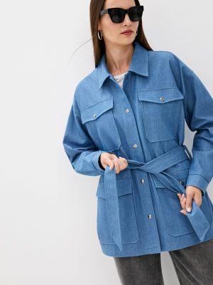 Джинсовая куртка - голубая Vera Nicco