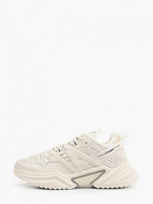 Низкие кроссовки - бежевые Strobbs