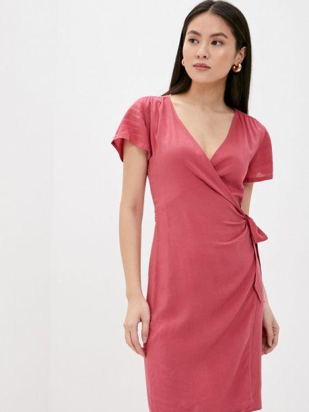 Однобортное красное платье Rock Angel