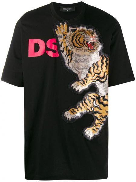 Koszula krótkie z krótkim rękawem prosto włoski Dsquared2