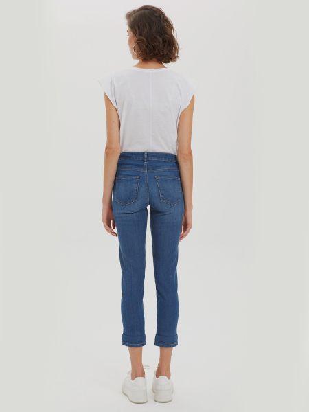Хлопковые джинсы на молнии Defacto