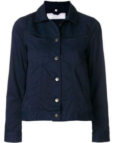 Синяя короткая куртка Société Anonyme