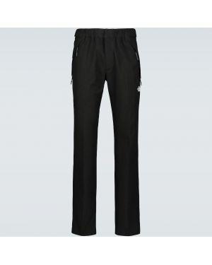 Czarne spodnie wełniane The North Face Black Series