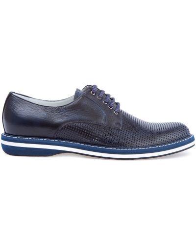 Туфли на шнуровке итальянские спортивные Barrett