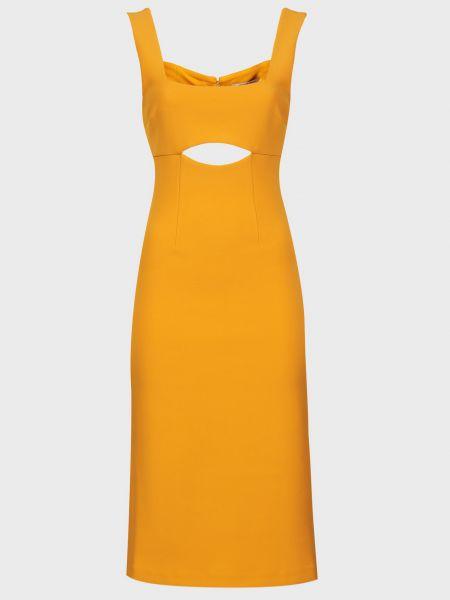 Оранжевое платье на молнии Finders Keepers