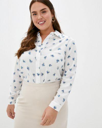Белая блузка с длинным рукавом с длинными рукавами Intikoma