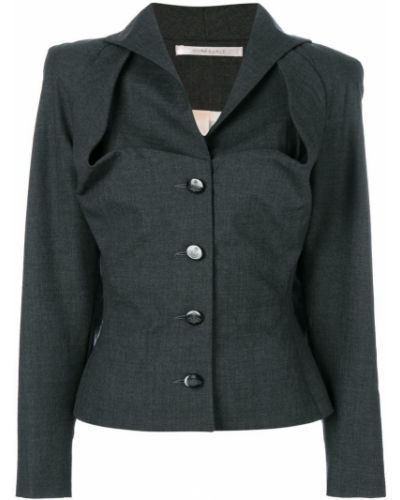 Приталенный пиджак винтажный золотой на пуговицах Vivienne Westwood Pre-owned
