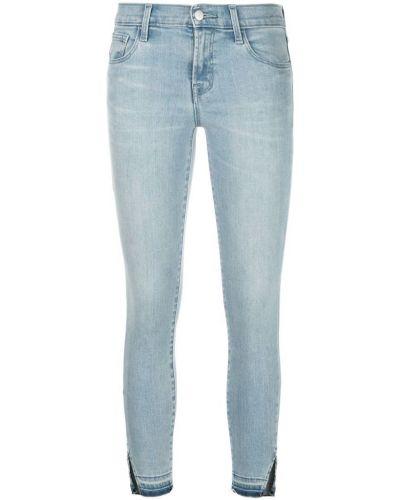 Укороченные джинсы на пуговицах с карманами J Brand