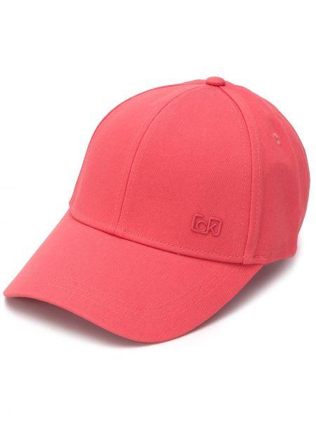 Хлопковая кепка - красная Calvin Klein