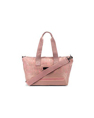 Сумка на плечо розовый нейлоновая Adidas By Stella Mccartney