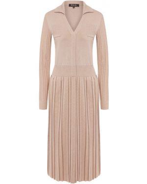 Платье розовое шелковое Loro Piana