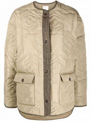 Стеганая куртка - зеленая Sandro Paris