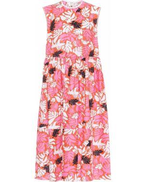 Платье миди льняное винтажная Marni