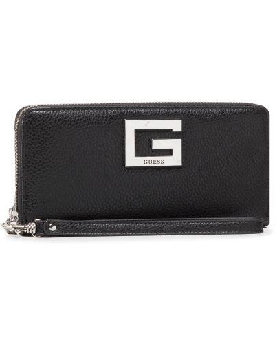 Czarny portfel przeoczenie Guess