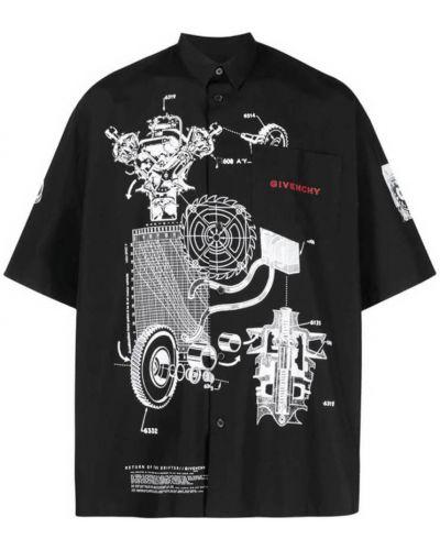 T-shirt - czarna Givenchy