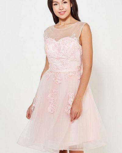 Розовое платье Paccio